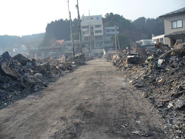 山田町役場前通り