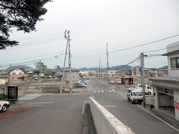 役場前(山田町八幡町)