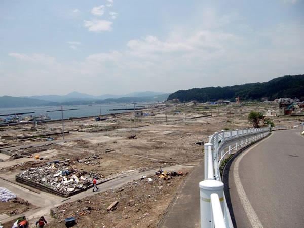 大沢地区ふるさとセンター付近(山田町大沢)
