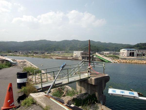 宝来橋(山田町北浜)