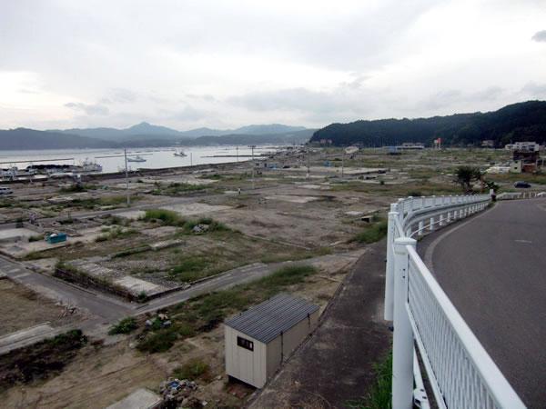 大沢ふるさとセンター付近(山田町大沢)