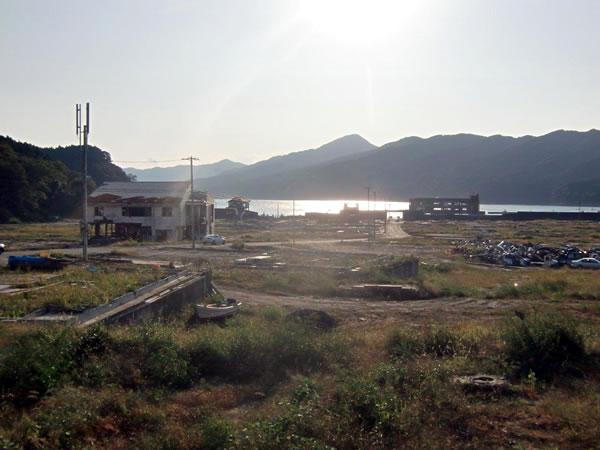 田の浜地区おしうや付近(山田町船越)