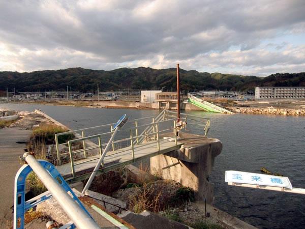 宝来橋(山田町北浜町)