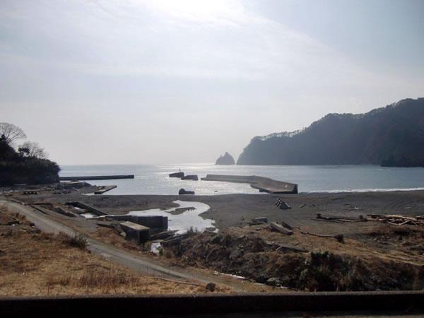 小谷鳥海岸(山田町船越)