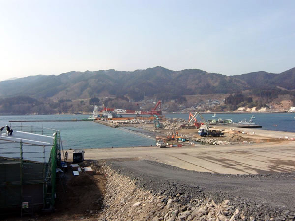 船越漁港(山田町船越)