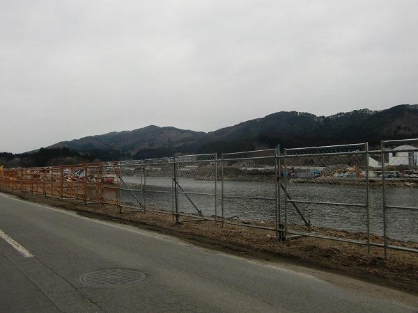 船越家族旅行村さくら亭付近(山田町船越)