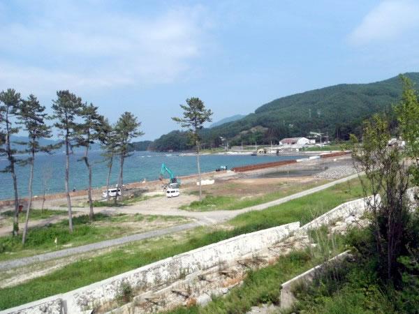 浦の浜海水浴場(山田町船越)