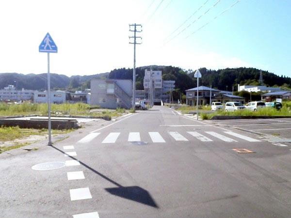 山田町役場前通(山田町八幡町)
