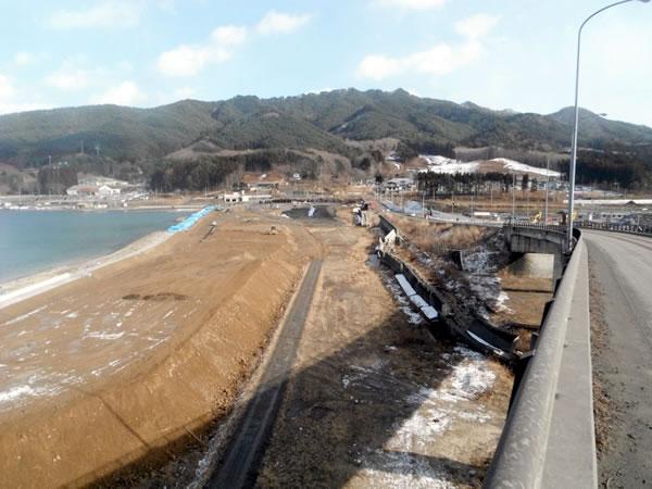 船越 浦の浜海水浴場(山田湾)