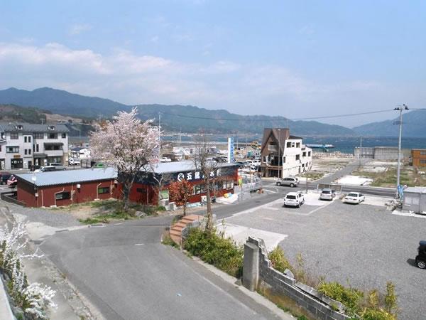 山田 おぐら山より北浜町側