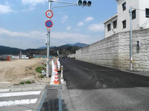 北浜 国道45号~宝来橋