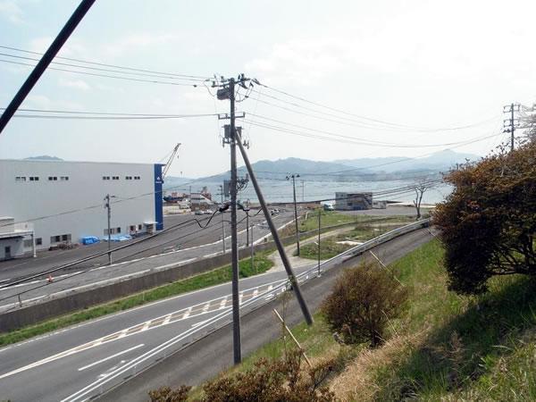 大沢 国道45号 魚賀波間神社より