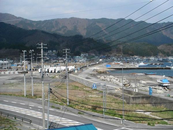 大沢 左側ジョイス跡地 魚賀波間神社より