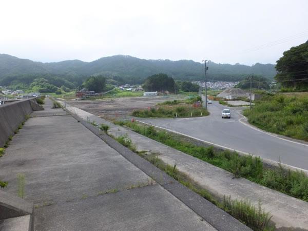 前須賀堤防より