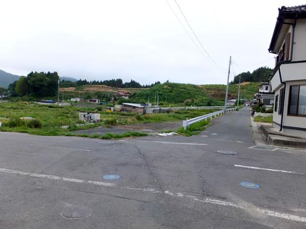 田の浜 北側