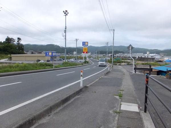 山田 国道45号 三本小松より