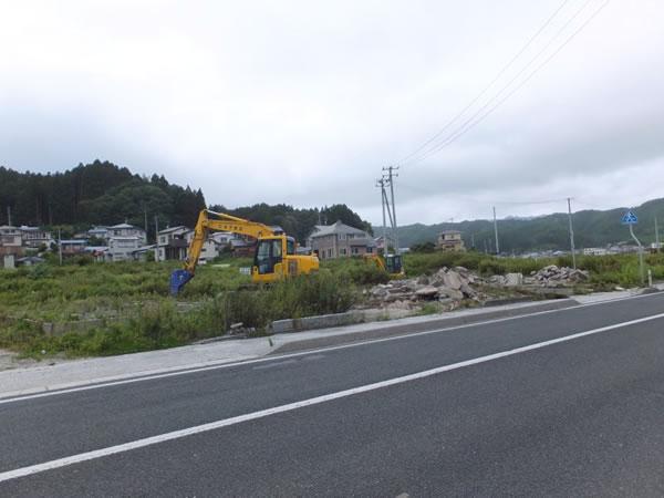 山田 基礎解体工事