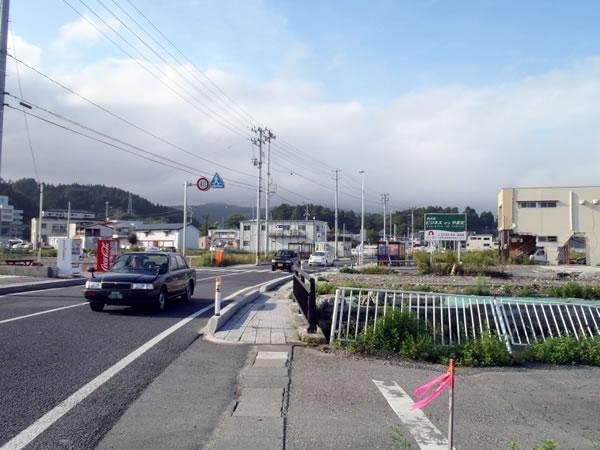 山田 国道45号 中央町