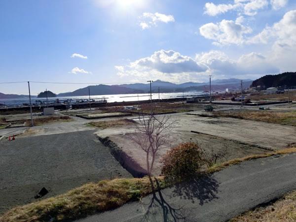 大沢 大沢小学校付近より(西側)