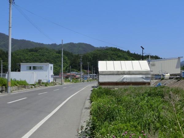 大沢漁協付近