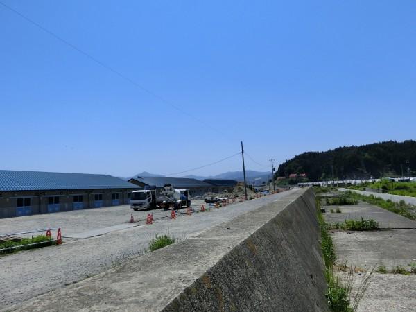 大沢ふ化場付近