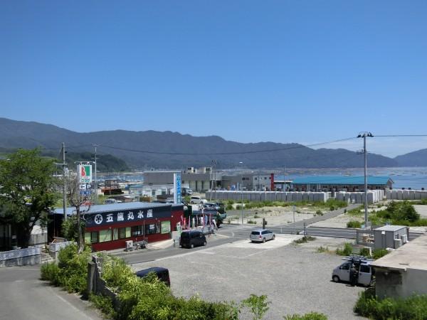 中央町 おぐら山から北浜方面