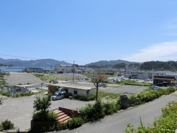 中央町 おぐら山から川向方面