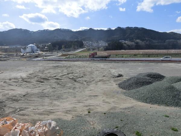 鯨と海の科学館付近(町道海蔵寺線より)