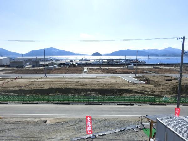 大沢小学校付近より(南側)