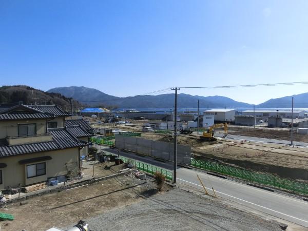 大沢小学校付近より(東側)