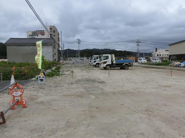 陸中山田駅入口より(中央町方面)