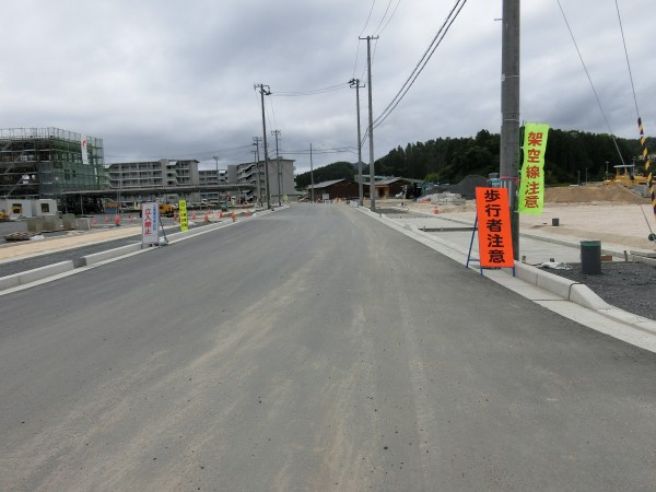 山田町ふれあいセンター入口