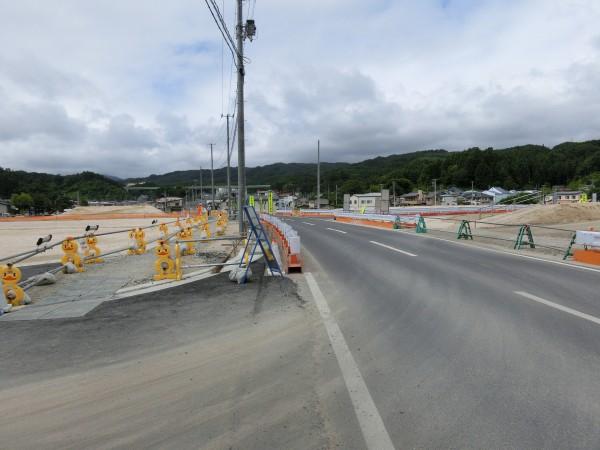 山田町ふれあいセンター入口(長崎方面)