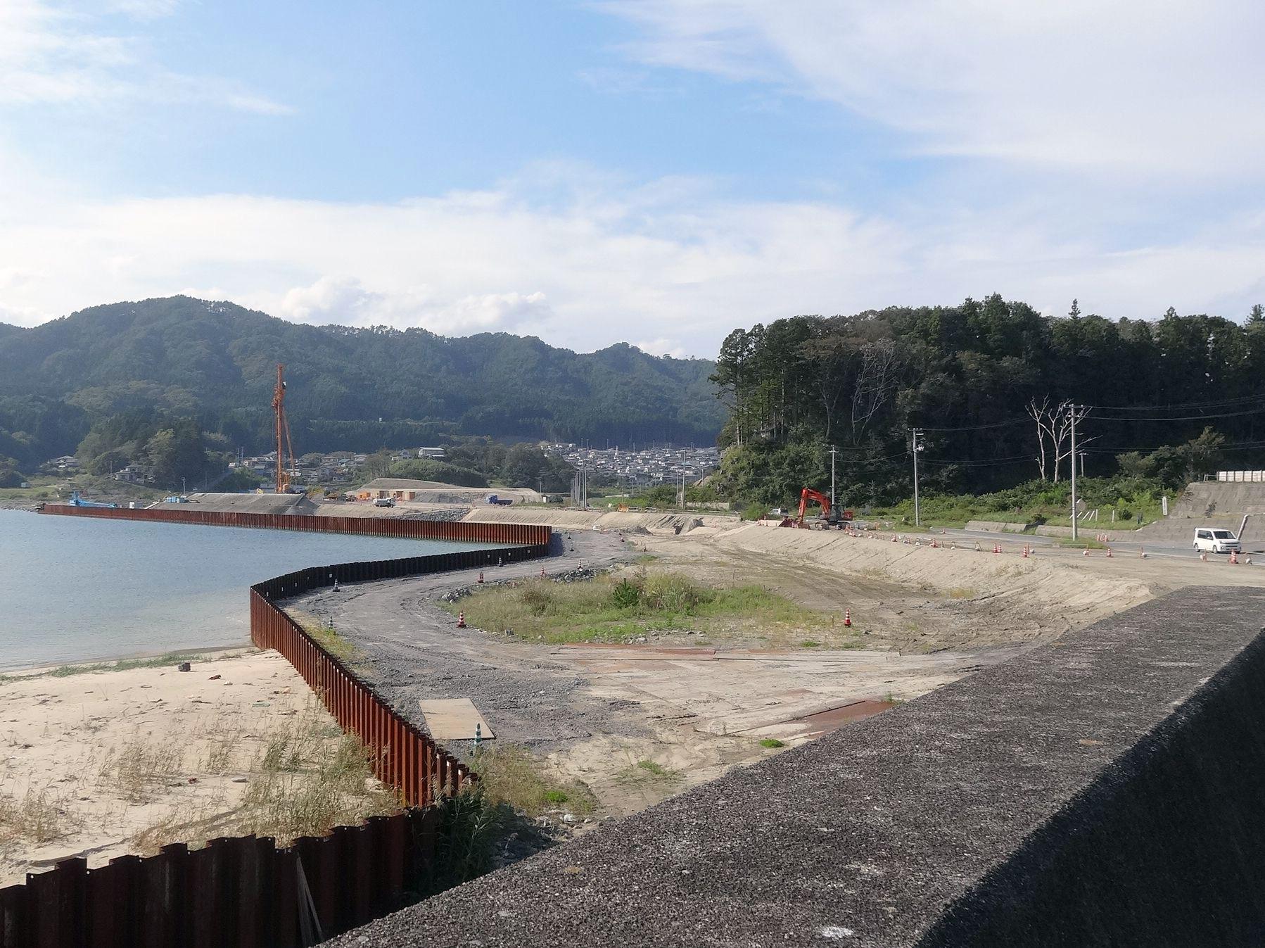 前須賀 船越小学校付近より