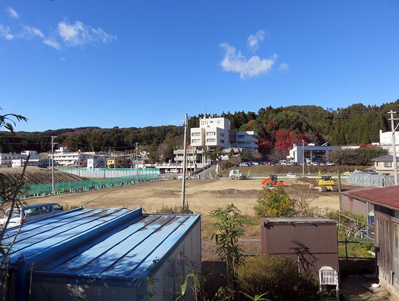 山田3 おぐら山より役場方面