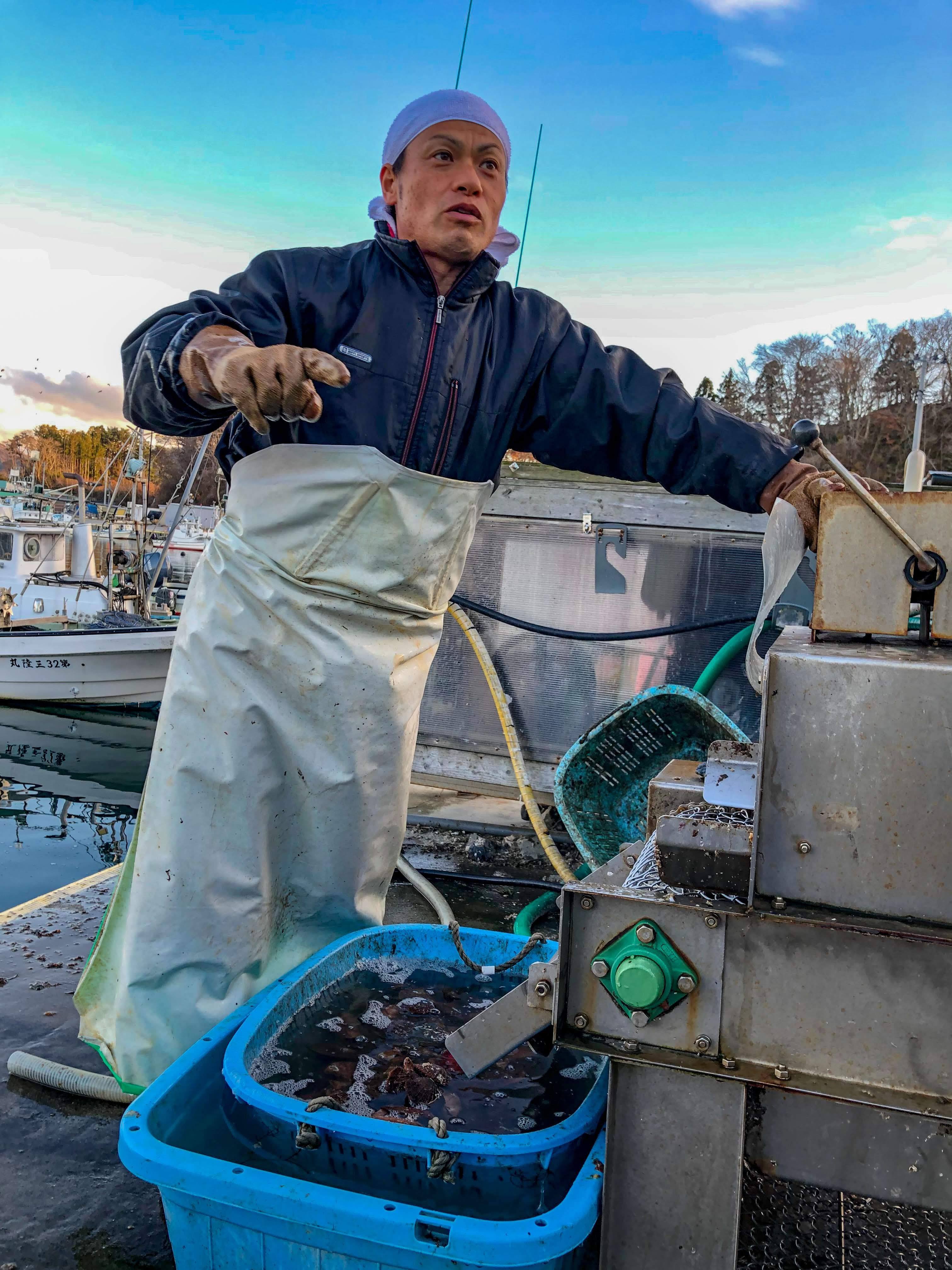 アカザラ・しゅうりの試食付き 漁師・佐々木さんの番屋体験