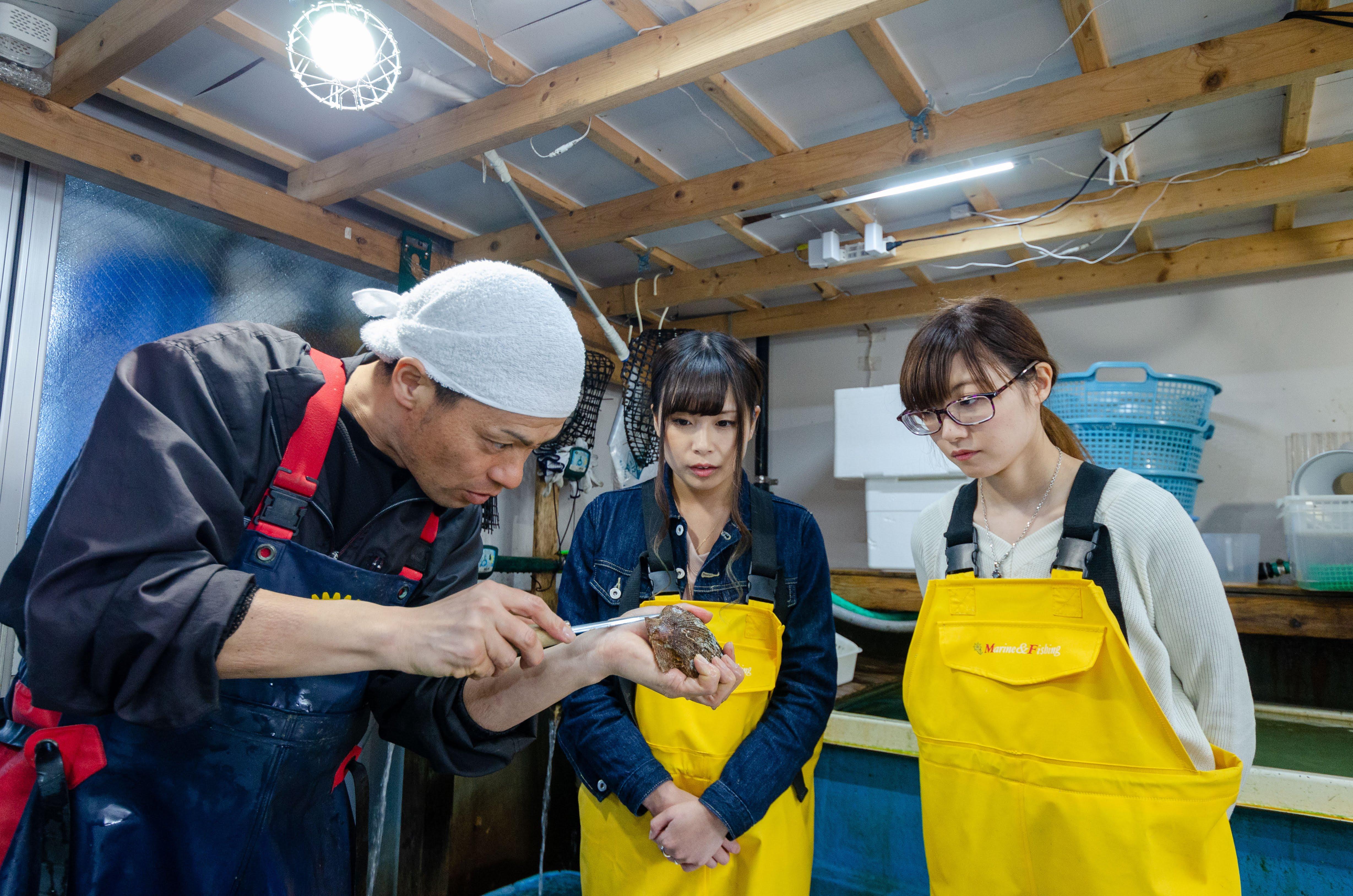 漁師・佐々木友彦さんの番屋体験【ゆっくり2時間コース】
