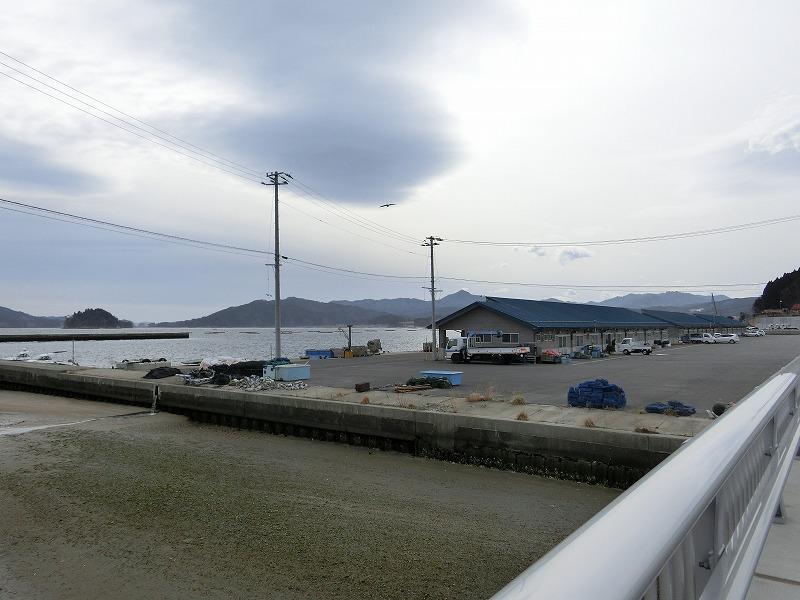 大沢漁港(大沢川河口)