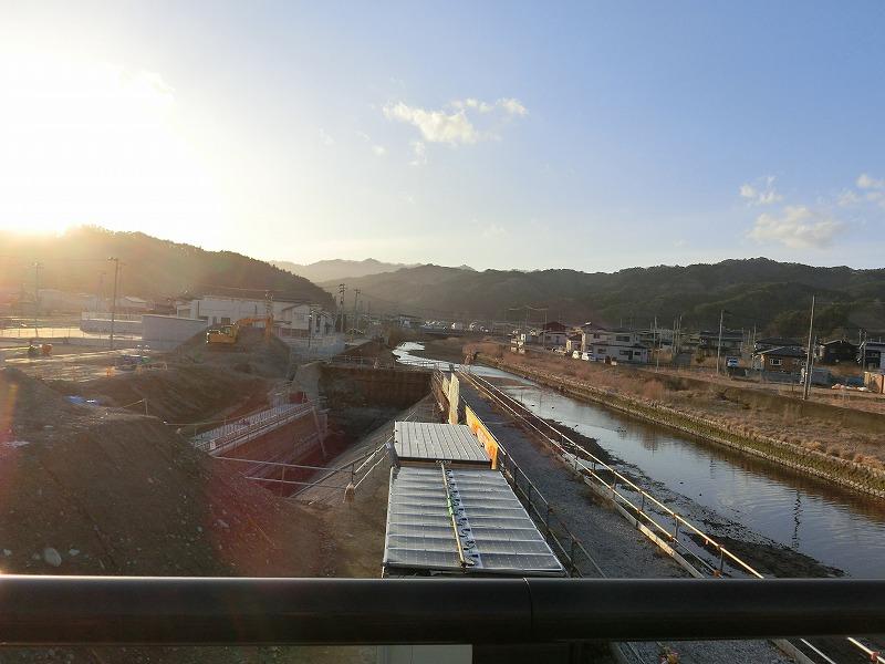 蓬莱橋(関口川)