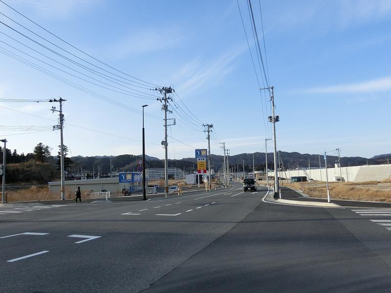 国道45号(境田町側)